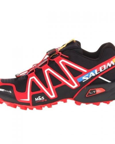 Salomon Spikecross 3 CS UK 6.5/EU 40, BLACK / RADIANT RED / WHITE