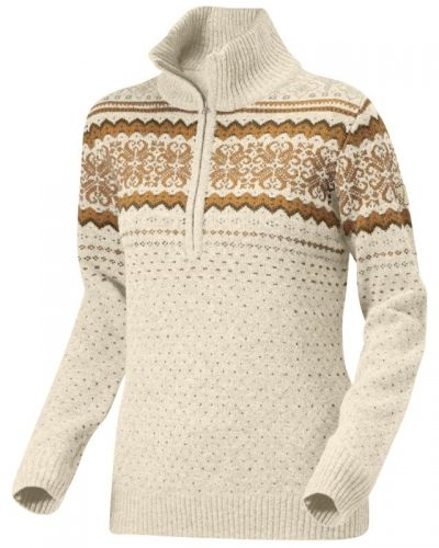 Vika Sweater XL, Ecru Fjallraven vardagströja till dam.