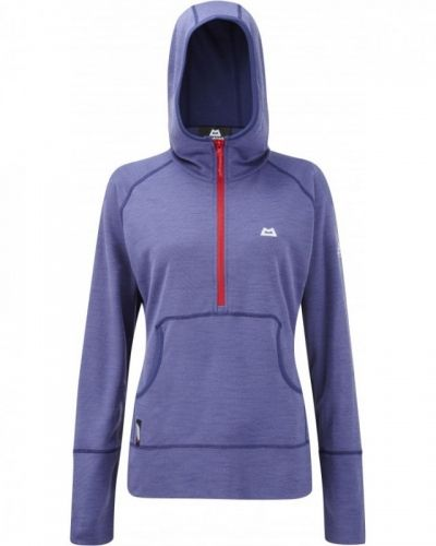 Women´s Calico Hooded Zip T 8, Iris Mountain Equipment fleecejacka till dam.