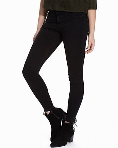 Slim fit jeans Black Leigh Jeans från Topshop