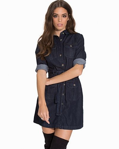 Miss Selfridge 4-Pocket Shirt Dress