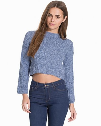 Topshop 90's Wide Rib Crop Top
