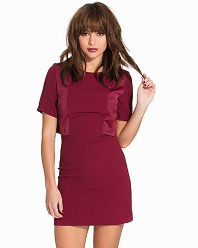 Topshop A-Line Overlay Dress