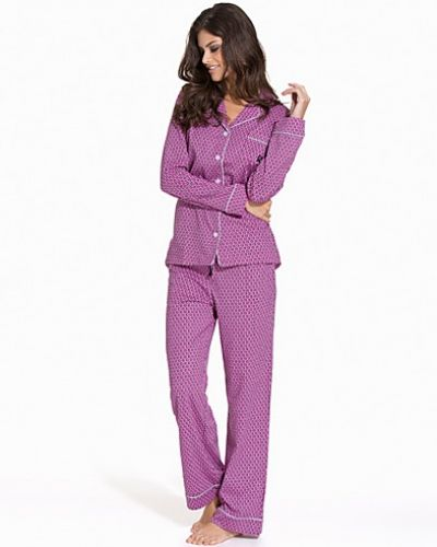DKNY Lounge Wear A Notch Above Long PJ Set