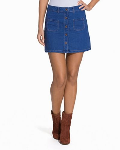 Jeanskjol Abba Denim Skirt från Fashion Union