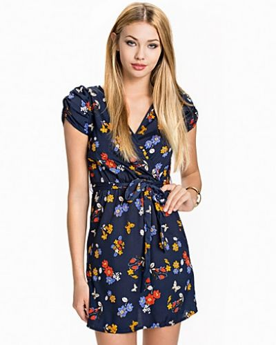 New Look Abingdon Floral Wrap Dress