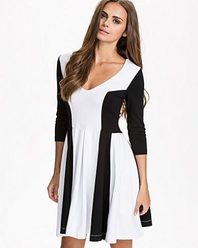 French Connection Abney V-Neck Flare Dress