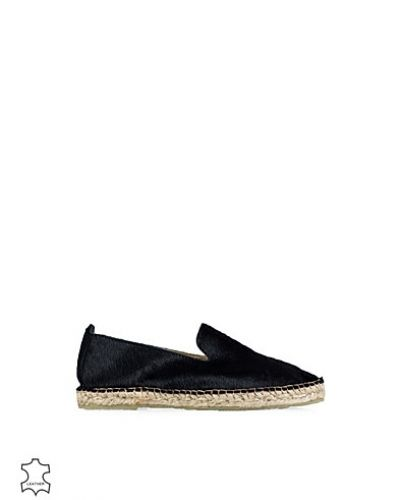 Agnes Leather Espandrillo Selected Femme loafers till dam.