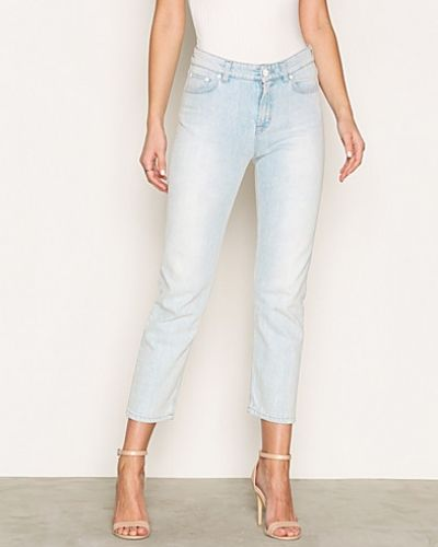 Alex Retro Bleached Denim Filippa K straight leg jeans till dam.