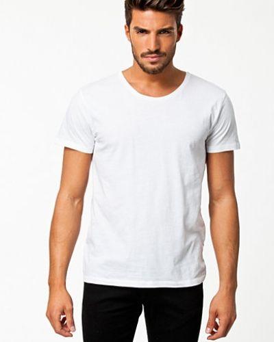 Till herr från Hope, en vit t-shirts.