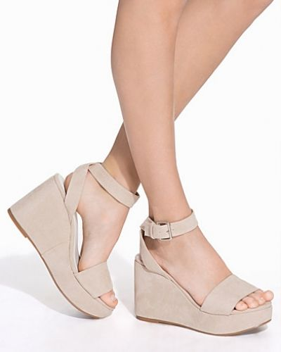 Nly Shoes Ankle Strap Wedge Sandal