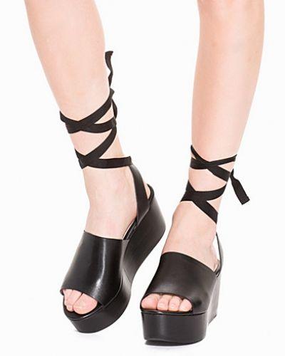 Topshop Ankle Tie Wedge