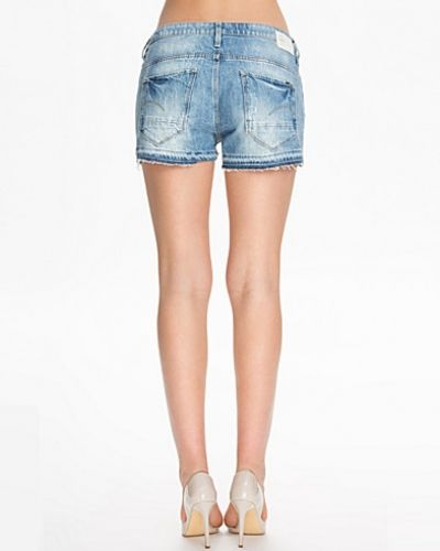 Blå jeansshorts från G-Star till tjejer.