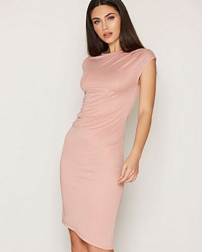 Topshop Asymmetric Drape Dress