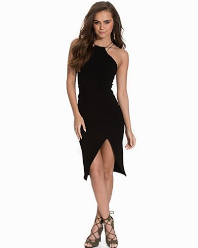 Asymmetric Slit Dress NLY One festklänning till dam.