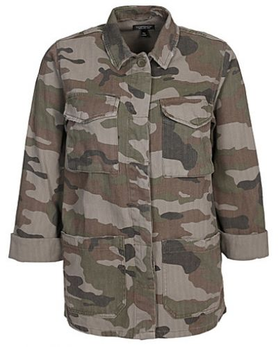 Topshop Authentic Camo Shacket Jacket