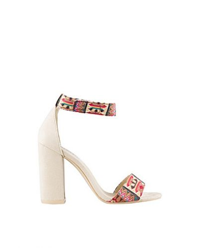 Nly Shoes Aztec Block Sandal