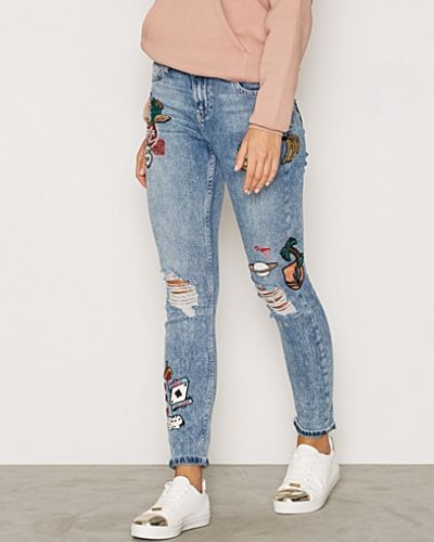 Topshop Badge Lucas Jeans