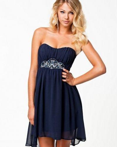 Elise Ryan Bandeau Chiffon Dress