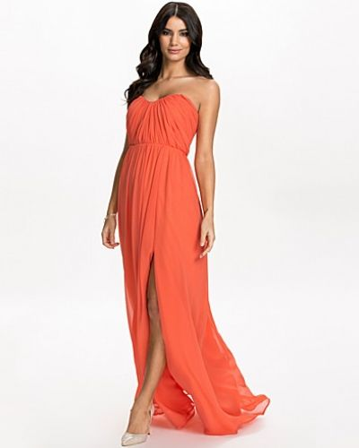 Bandeauklänning Bandeau Drape Dress från Nly Eve