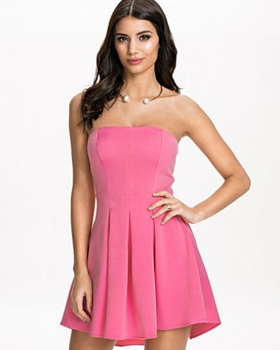 NLY One Bandeau Pleats Dress