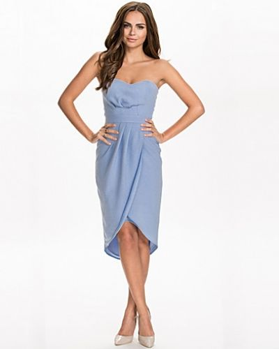 Elise Ryan Bandeau Wraped Dress
