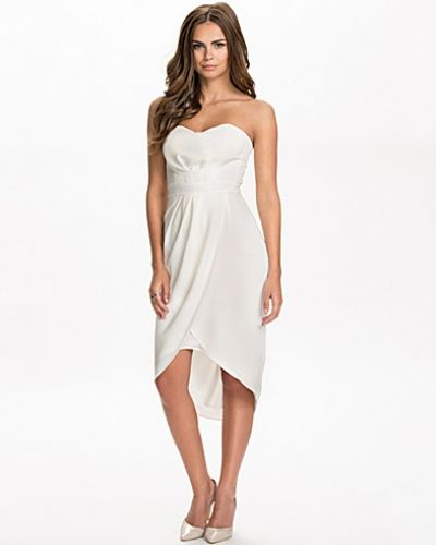 Elise Ryan Bandeau Wraped Dress