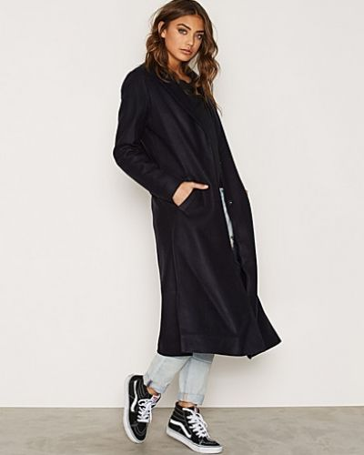 New Look Bar Back Split Side Maxi Coat