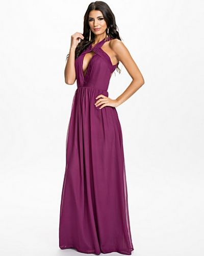 Nly Eve Bare Back Maxi Dress