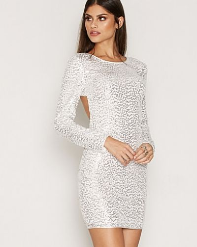 NLY One Bare Back Sequin Dress