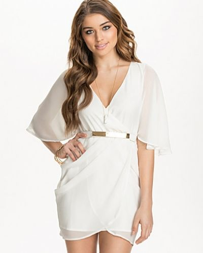 NLY One Bat Sleeve Wrap Dress
