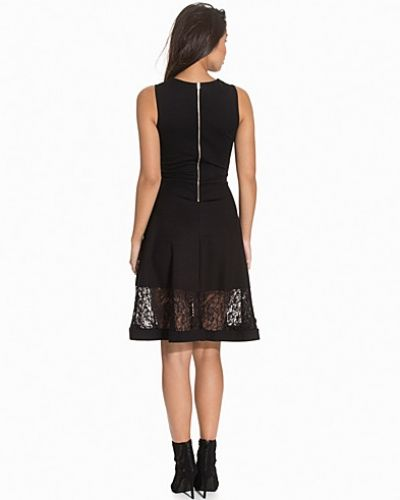 French Connection Beau Lace Panel Dress