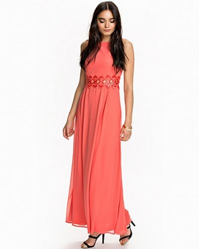 Ax Paris Belted Maxi Dress