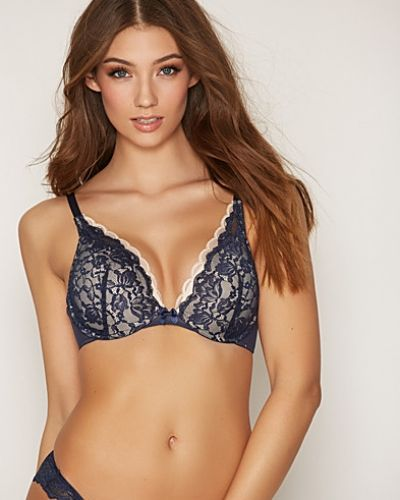 Svart push up-bh från Hunkemöller