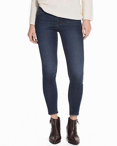 Topshop Black Rip J Jeans