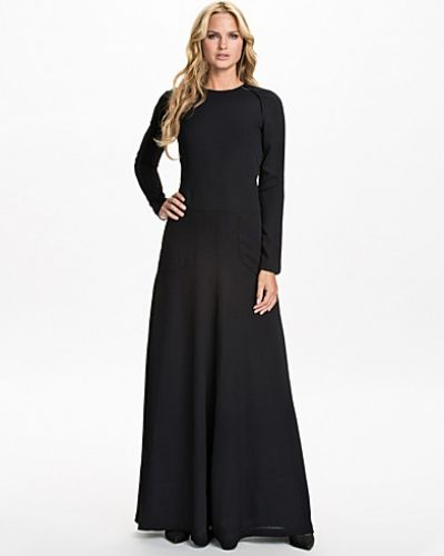 Maxiklänning Black Split Maxi Dress från Filippa K