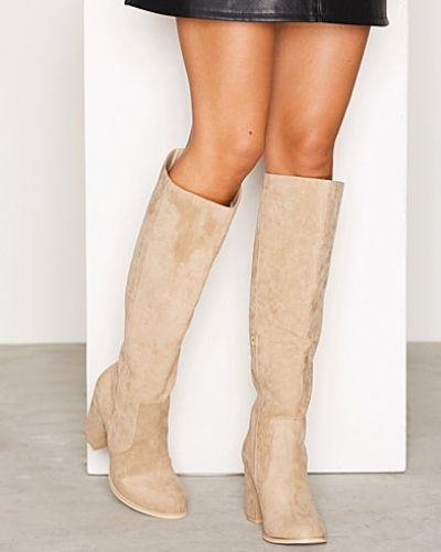 Nly Shoes Block Heel Knee High Boot