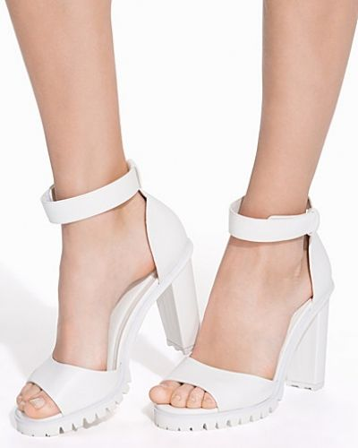 Nly Shoes Block Track Sole Sandal