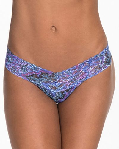 Hanky Panky Blue Paisley Low Rise Thong