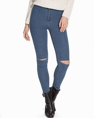 Topshop Blue Rip Joni Jeans