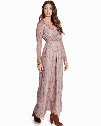 Boho Long Print Dress Dry Lake maxiklänning till dam.