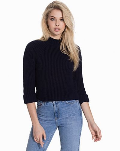 Topshop Boxy Cropped Jumper