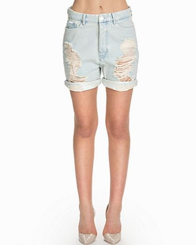 Blå jeansshorts från Calvin Klein Jeans till tjejer.