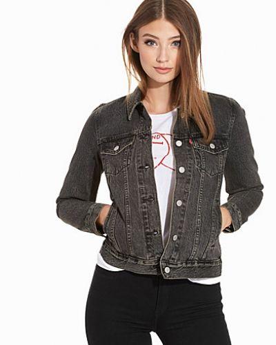 rabatt försäljning löparskor nytt koncept Till dam från Levis, en svart jeansjacka.