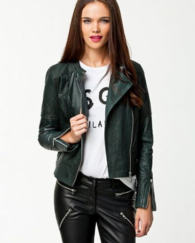 Selected Femme Brioche Leather Jacket