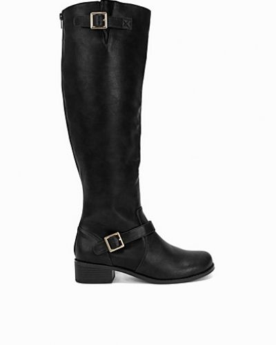 Känga Buckle Knee high Boot från Nly Shoes