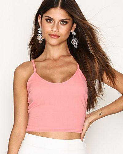 Cami Crepe Crop Top NLY One linnen till dam.
