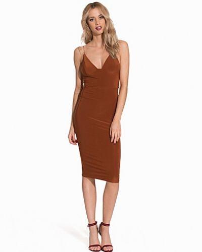 Club L Essentials Cami Strap Slinky Mini Dress