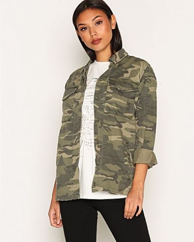 Topshop Camouflage Shacket