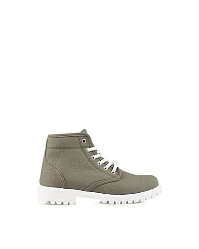 Nly Shoes Canvas Boot
